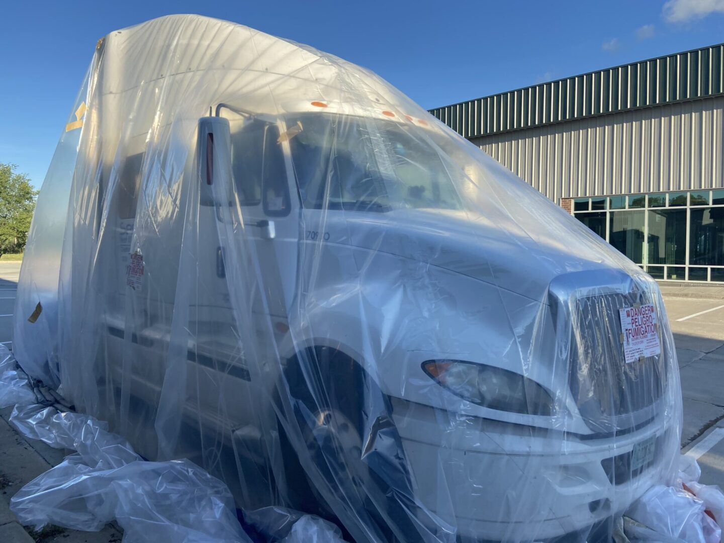 Fumigate your Semi-Cab for Bed Bugs